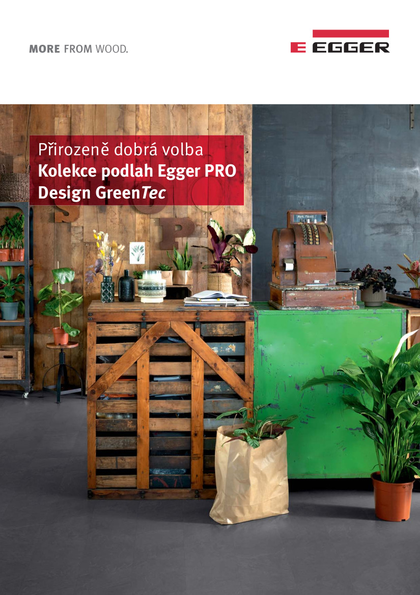 Kolekce podlah Egger PRO Design GreenTec